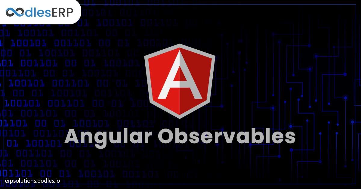 Angular Observables
