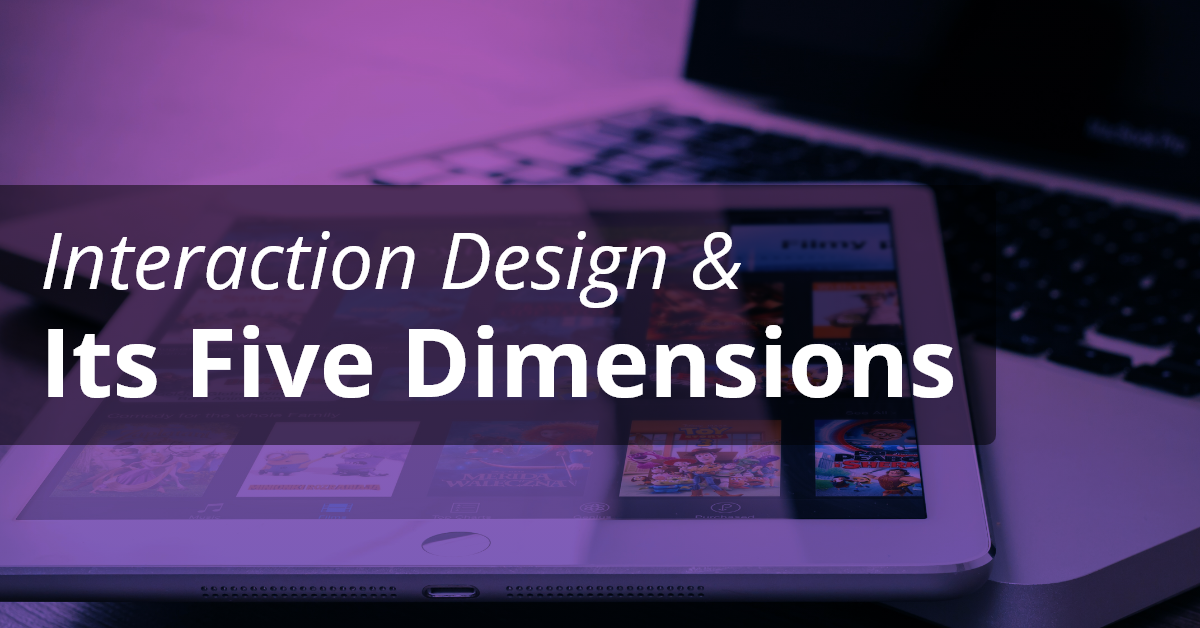 interaction design and its dimensions