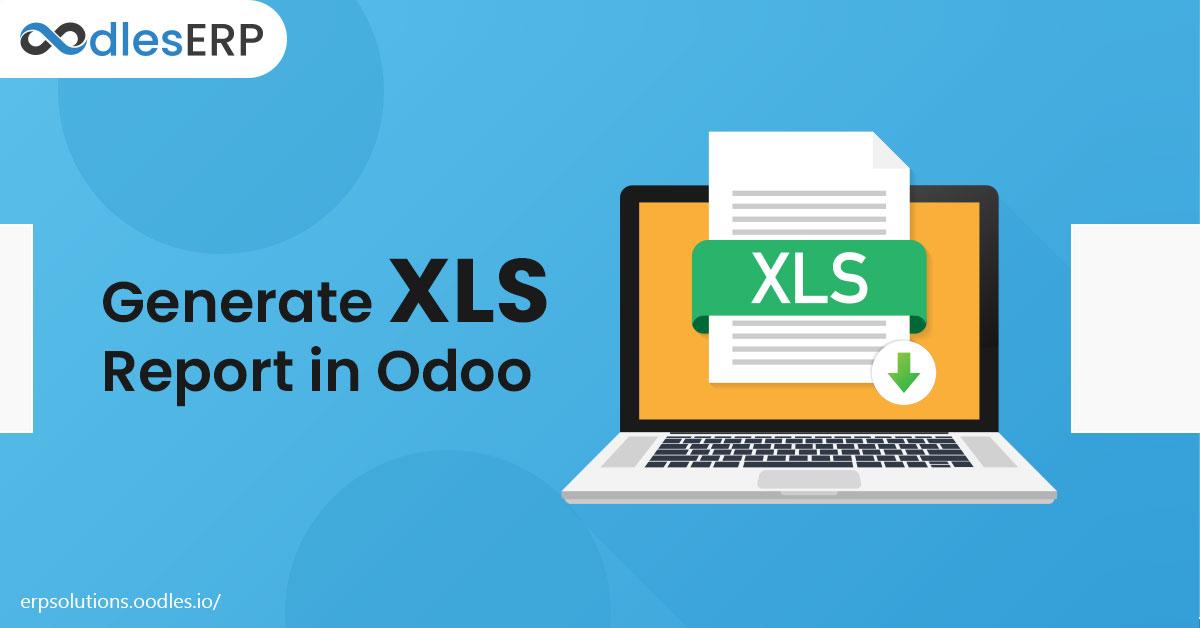 Generate XLS Report in Odoo