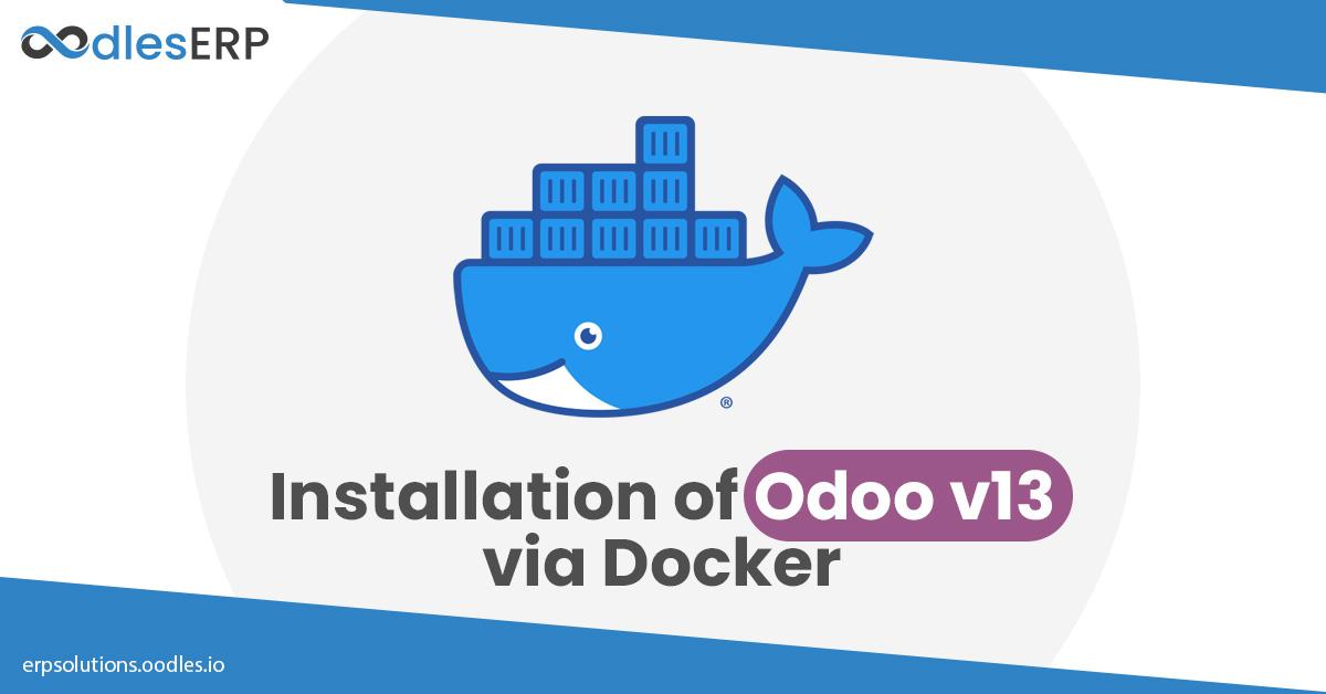 odoo v13 via Docker