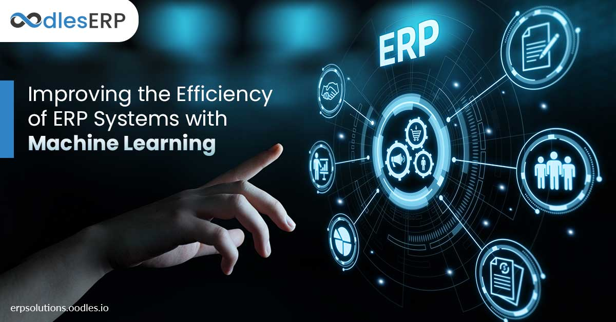 ERP software with machine learning