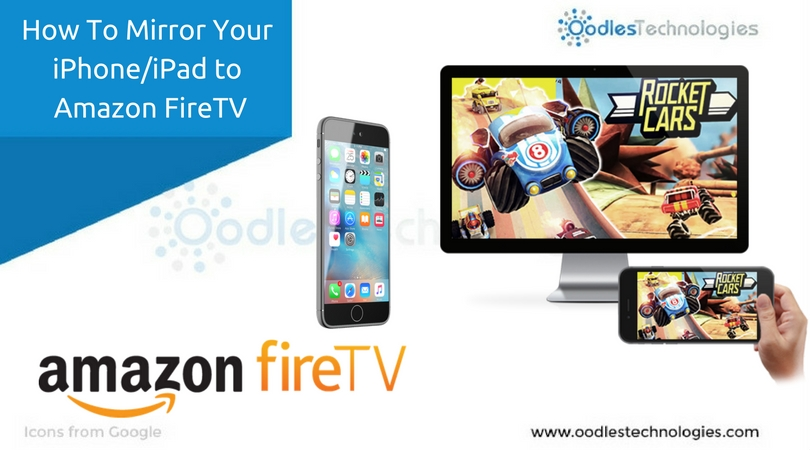 How to mirror your iphone or ipad to amazon fire tv for Mirror iphone to tv