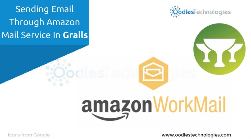Sending email through amazon mail service in Grails