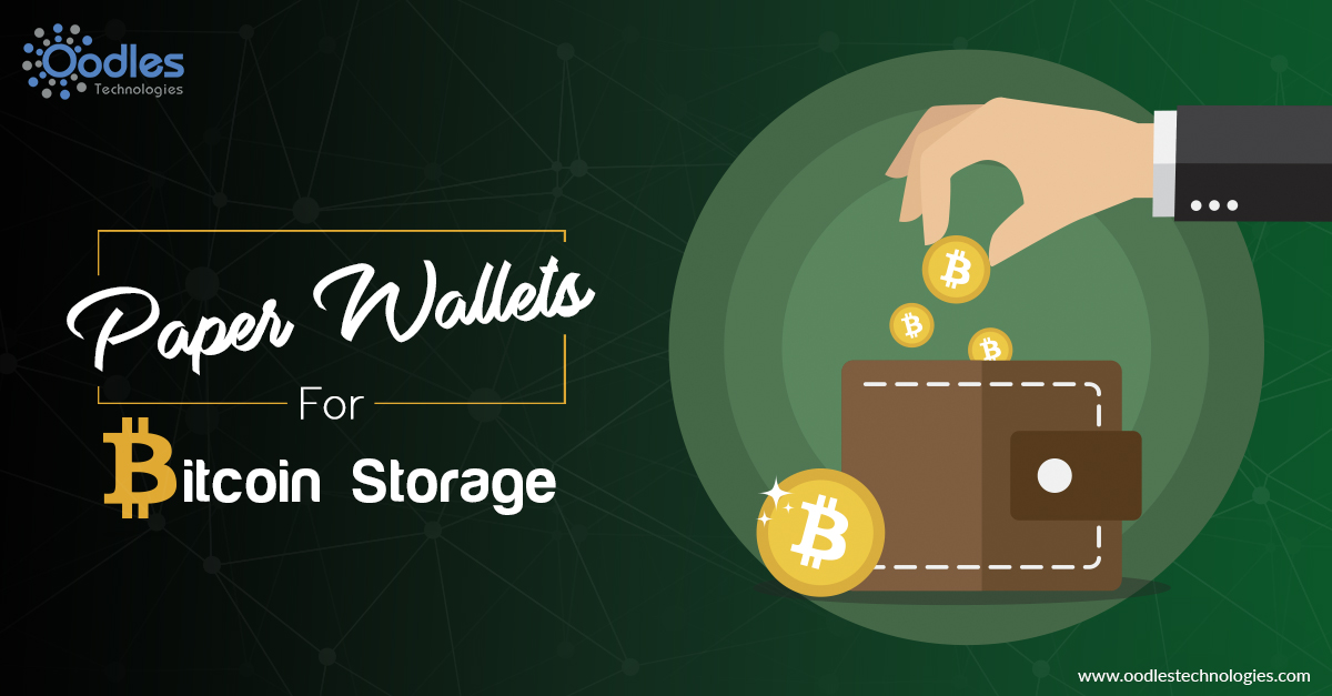 Paper Wallets For Bitcoin Storage