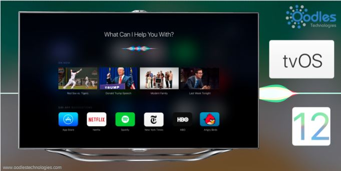 Apple TV Revamps Siri Experience With tvOS 12