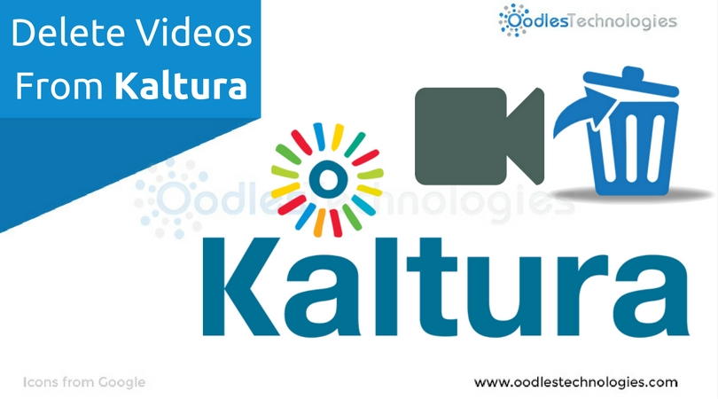 Delete videos from Kaltura