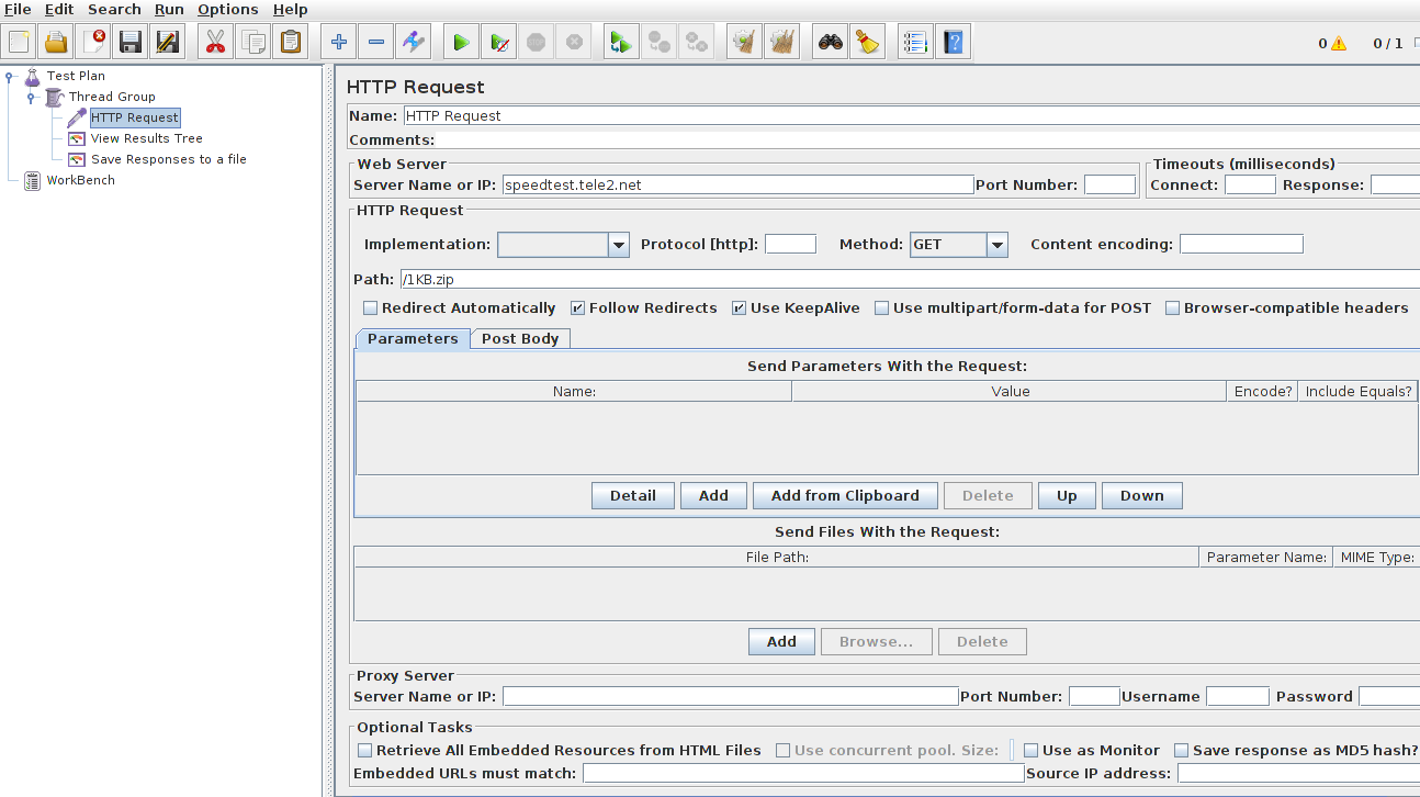 Working with file download in jmeter