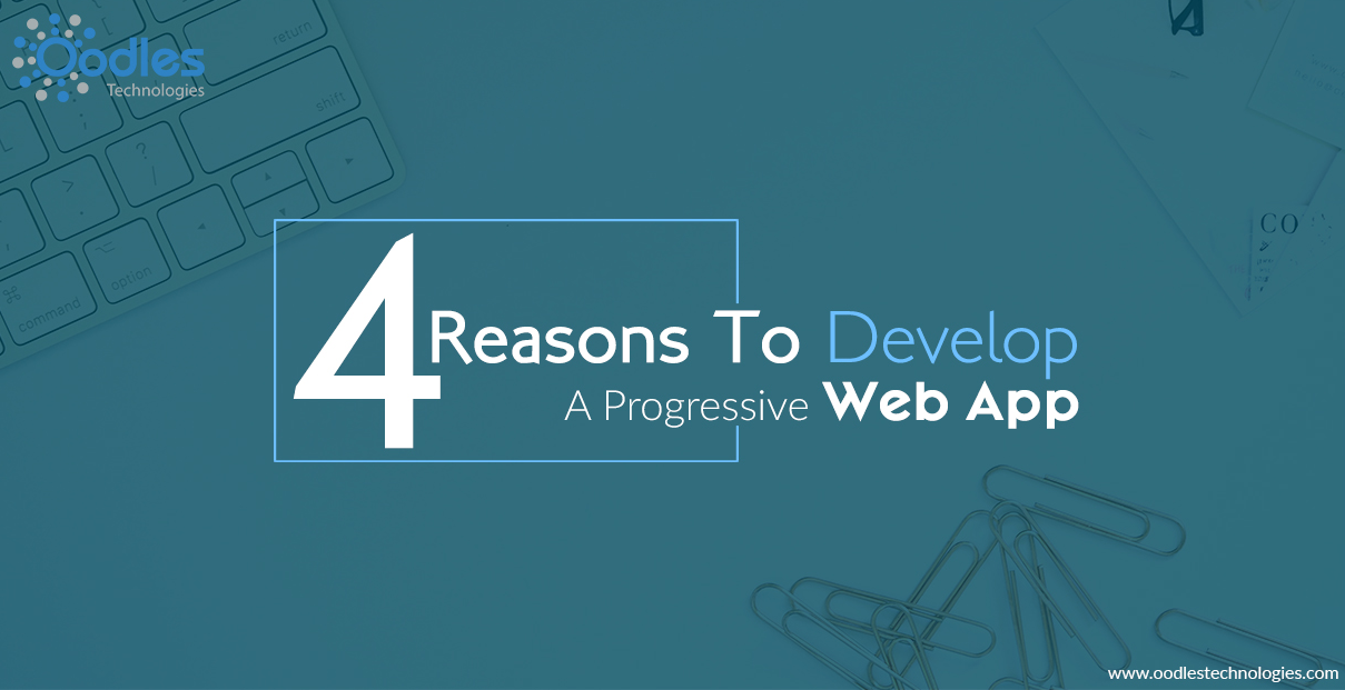 develop a progressive web app