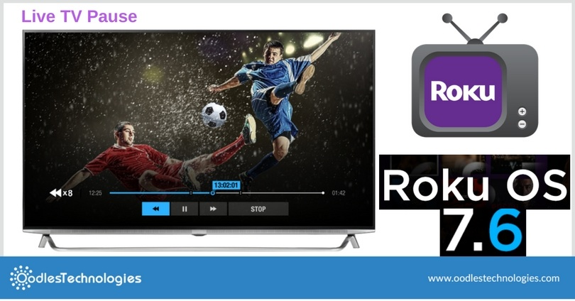 Newest Roku Update Lets You Pause Live TV