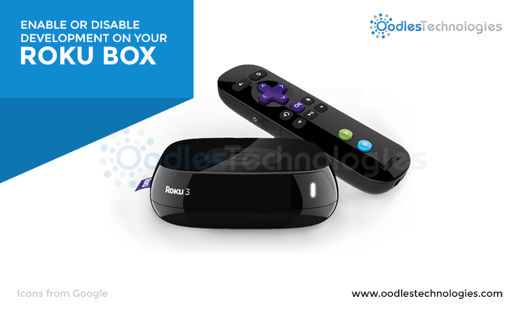Enable DIsable Development on Roku Box