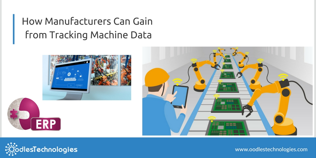 Use of ERP to digitize manufacturing machines