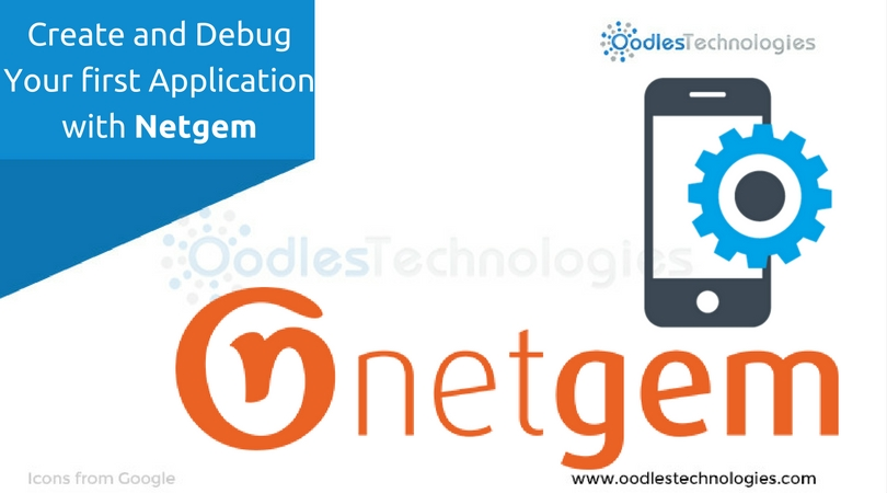 Create and Debug your first Application with Netgem