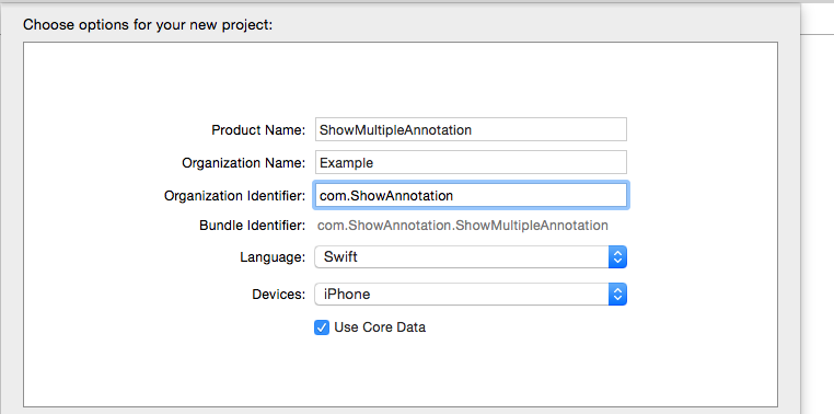 Display Multiple annotation in Map Swift
