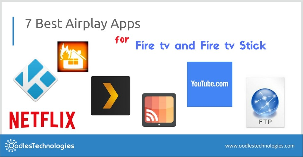 Best Airplay Apps for Fire tv and Fire tv Stick