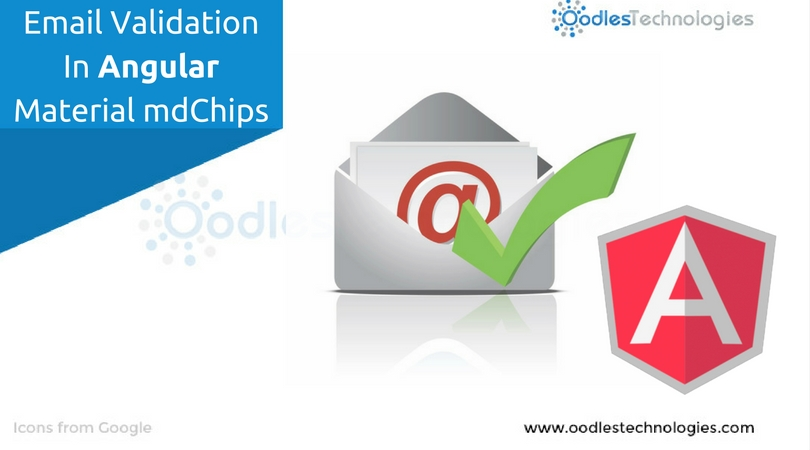 Email validation in angular material mdchips