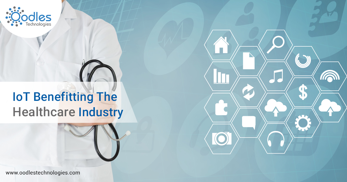 IoT benefitting healthcare industry
