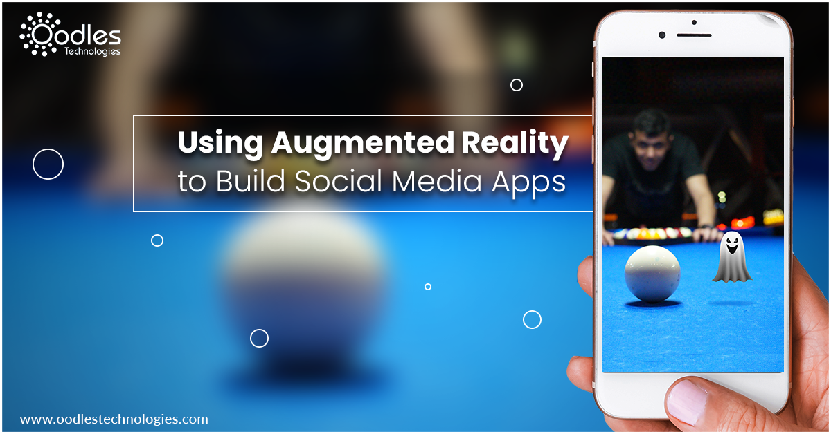 Using Augmented Reality for Building Engaging Social Media Apps