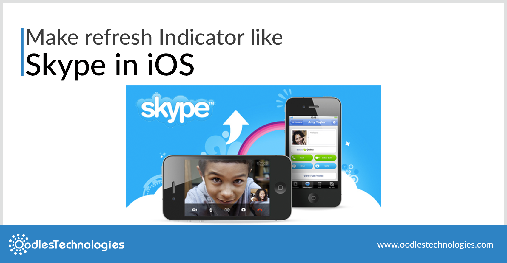 Make Refresh Indicator Like Skype in IOS