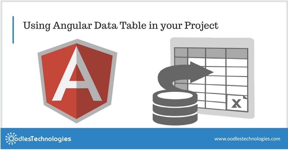 Using Angular Data Table in your Project