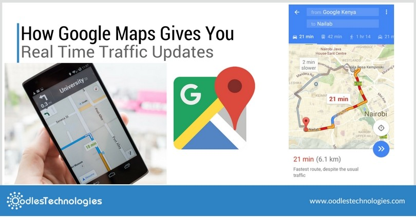 Google maps traffic alerts