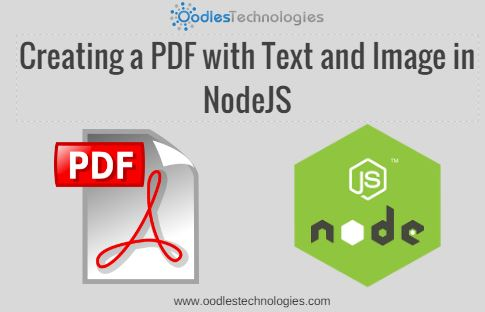 Creating A Pdf With Text And Image In Nodejs