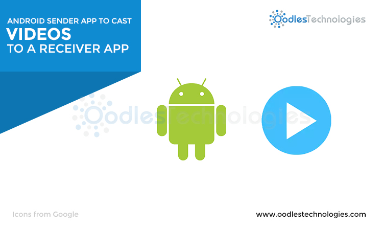 Android Sender App to cast videos to a Receiver App