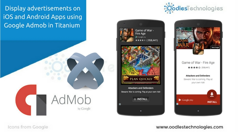 Display advertisements on iOS and Android Apps using