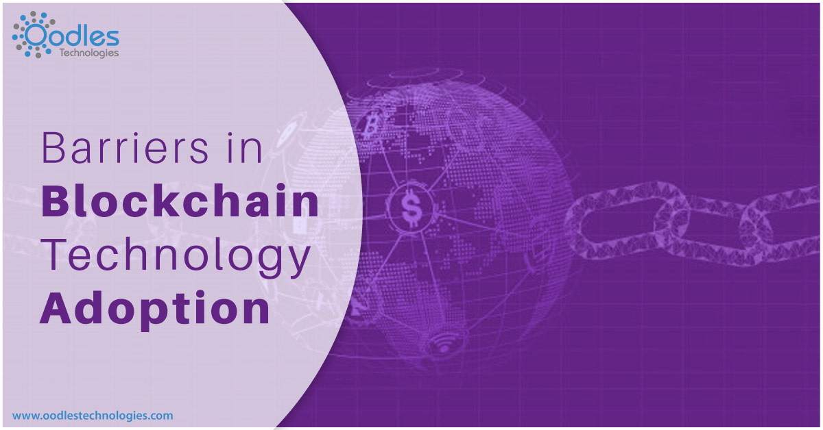 Barriers in blockchain adoption
