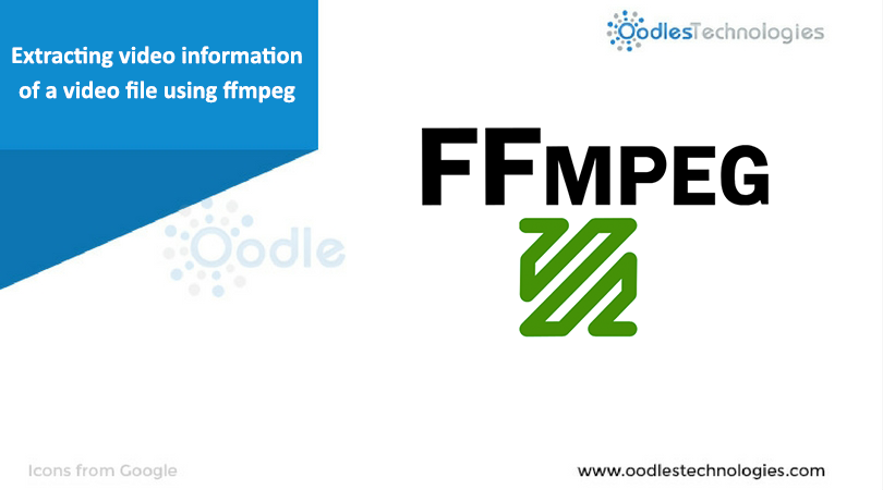 Extracting video information of a video file using ffmpeg