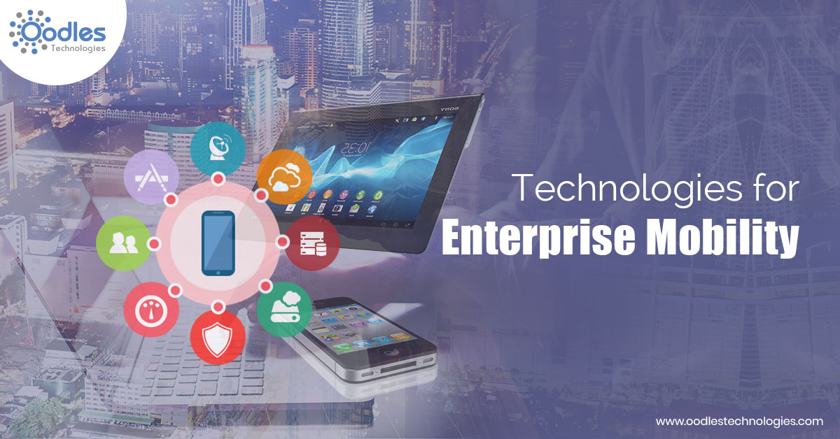 Futuristic Technologies for enterprise mobility trends
