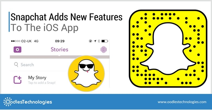 Snapchat Adds New Features