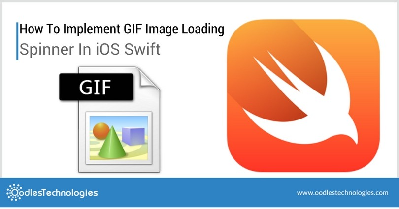 How to Implement Gif Image Loading spinner in iOS Swift
