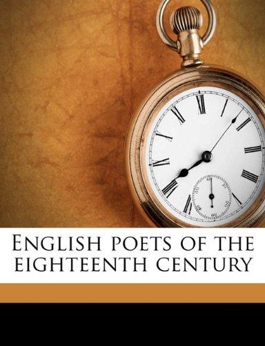 English Poets of the E...