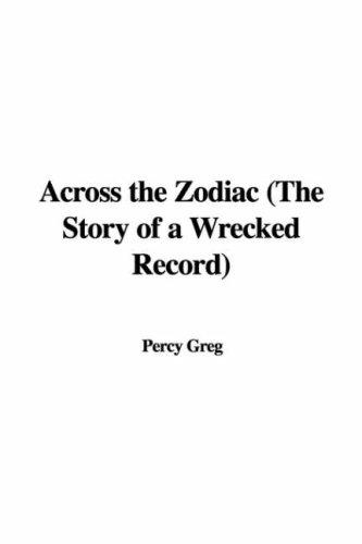 Across the Zodiac The...