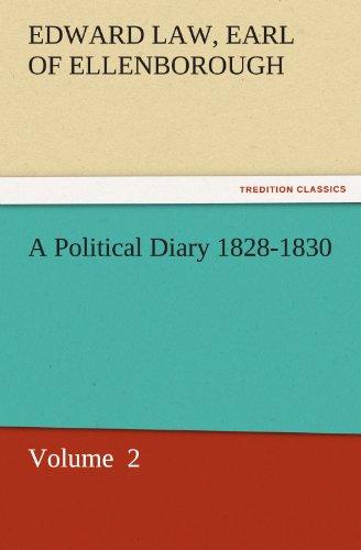 A Political Diary, 182...