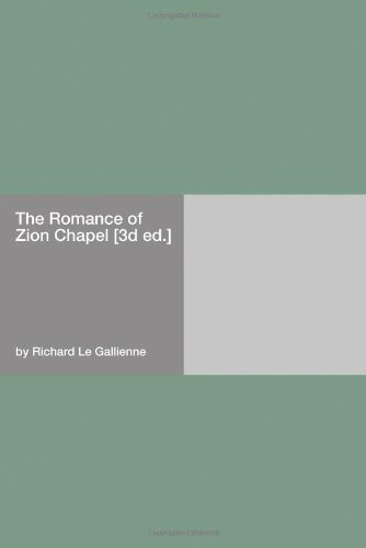 The Romance of Zion Ch...
