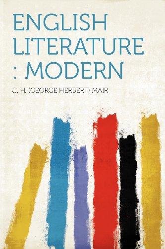 English Literature: Mo...