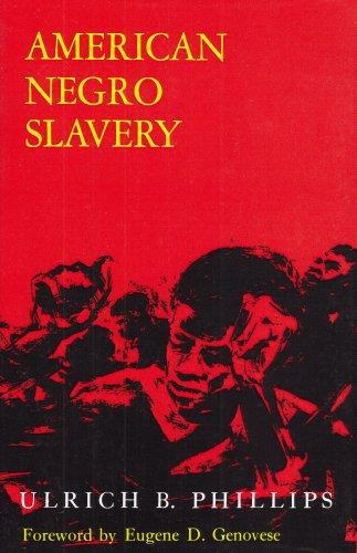 American Negro Slavery...