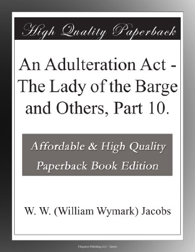 An Adulteration Act Th...