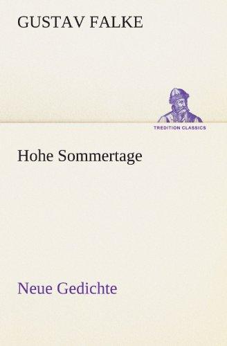 Hohe Sommertage Neue G...