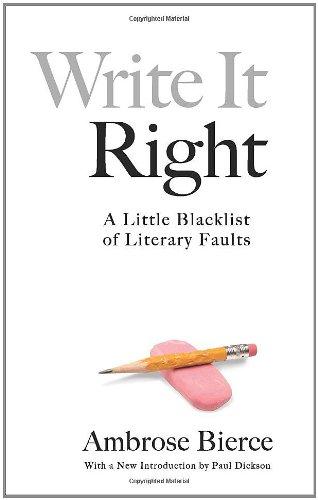 Write It Right A Littl...