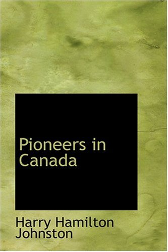 Pioneers in Canada
