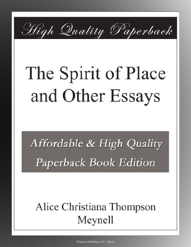The Spirit of Place, a...