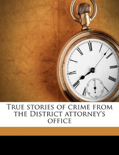 True Stories of Crime ...