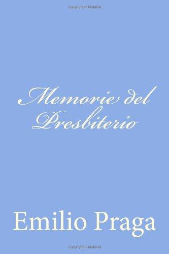Memorie del Presbiteri...