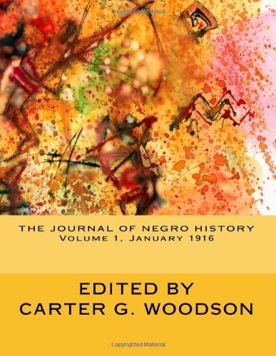 The Journal of Negro History, Volume 1, January 1916