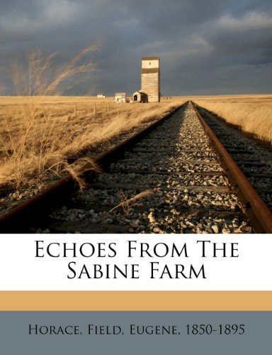 Echoes from the Sabine...