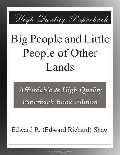 Big People and Little ...