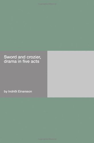 Sword and crozier, dra...