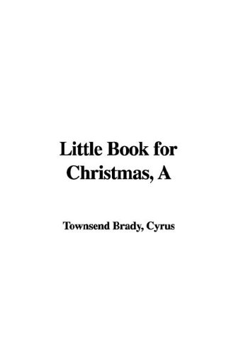 A Little Book for Chri...